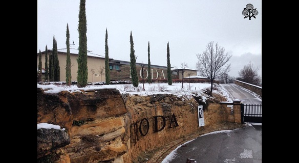 winter prints that leave us the last snowfall at bodegas roda